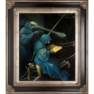 Heironymus Bosch 'The Garden of Earthly Delights' (detail) Hand Painted Framed Canvas Art