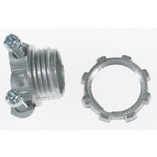 """Halex 05115 1-1/2"""" Non Metallic Clamp Connector"""