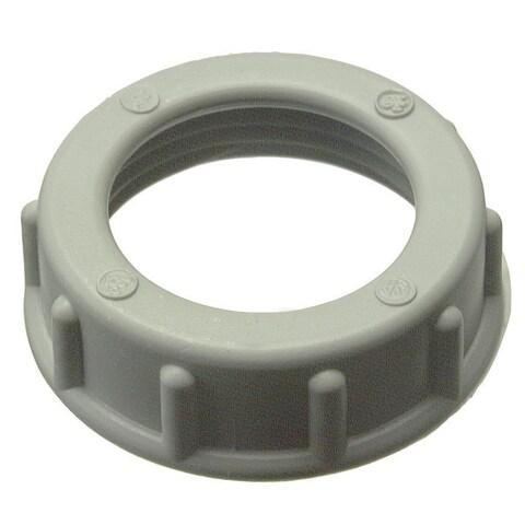 "Halex 27522 10-count 3/4"" Plastic Insulating Bushing - Off-White"