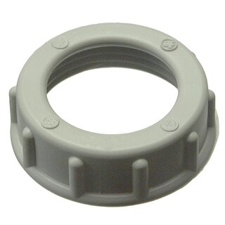 "Halex 27522 10-count 3/4"" Plastic Insulating Bushing - Off-White"