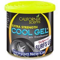 California Scents CG4-422TR 4.5 Oz Newport New Car Cool Gel Car Air Freshener