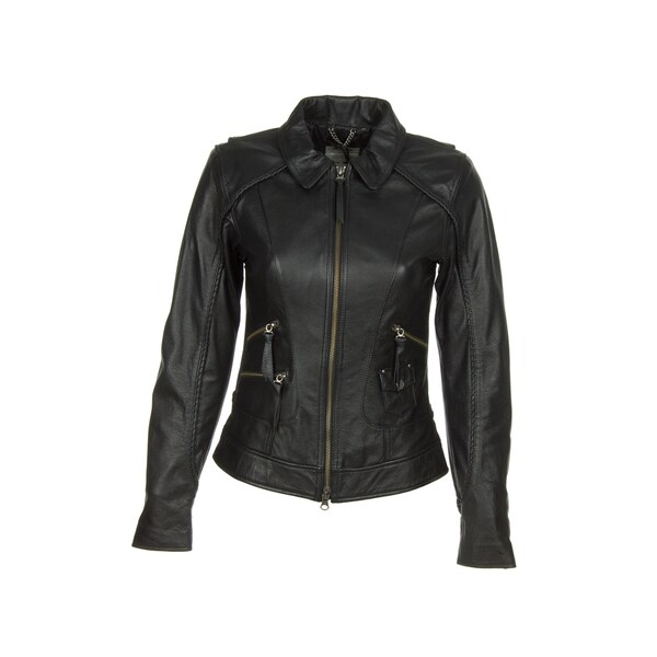 Harley Davidson 98064 13vw Womens Heritage Black Leather