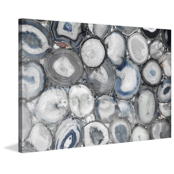Marmont Hill - Geode Pool Print on Canvas - Multi-color