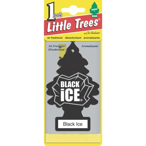 Car Freshener U1P-10155 Little Trees Black Ice Air Freshener