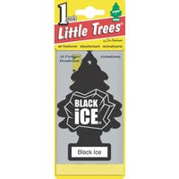 Car Freshener U1P-10155 Little Trees Black Ice Air Freshener