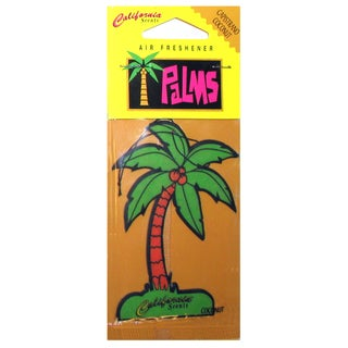 California Scents HO-1216 MC Capistrano Coconut Palms Hang Outs Car Air Freshener