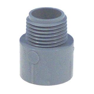 "Carlon Lamson & Sessons E943ER-CTN 3/4"" Non Metallic Male Terminal Adapter Slip To Thread"