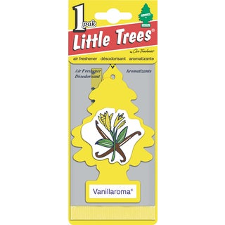 Car Freshener U1P-10105 Vanillaroma Little Tree Air Fresheners