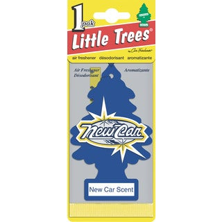Car Freshener U1P-10189 New Car Scent Little Tree Air Fresheners