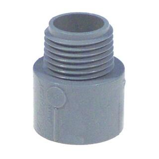 "Carlon Lamson & Sessons E943HR-CTN 1-1/2"" Non Metallic Male Terminal Adapter Slip To Thread"