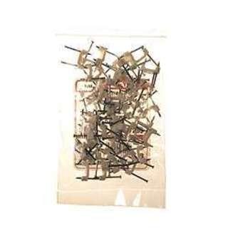 """Halex 27209 1/2"""" Non-Metallic Plastic Insulating Cable Staples 50-count"""