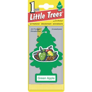 Car Freshener U1P-10316 Green Apple Little Tree Air Fresheners