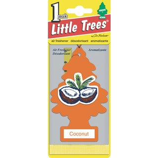 Car Freshener U1P-10317 Coconut Little Tree Air Fresheners