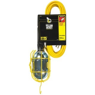 Yellow Jacket 02893 25' 16/3 Yellow Jacket Work Light