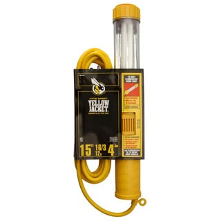 Yellow Jacket 38067 15' 16/3 Yellow Jacket Work Light