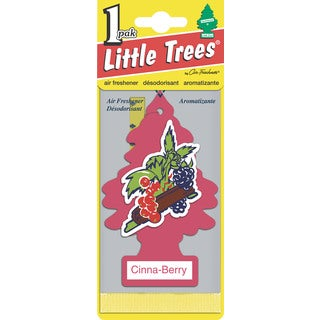 Car Freshener U1P-10318 Cinna-Berry Little Tree Air Fresheners