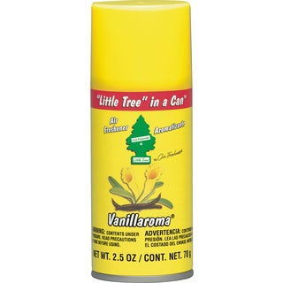 Car Freshener UAL-09005 2.5 Oz Vanillaroma Little Tree In A Can Air Freshener