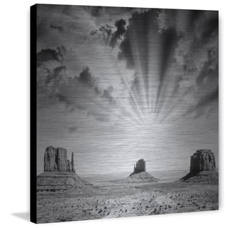 Marmont Hill - Heaven Shine Print on Brushed Aluminum