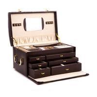 Sophia Leather Jewelry Case
