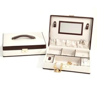 Amelia Ivory Jewelry Case