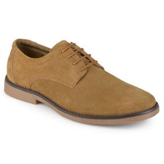 Vance Co. Men's 'Rowan' Faux Suede Lace-up Dress Shoes