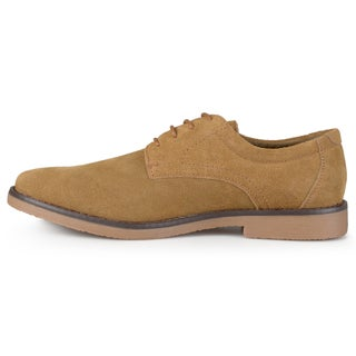 Vance Co. Men's 'Rowan' Faux Suede Lace-up Dress Shoes