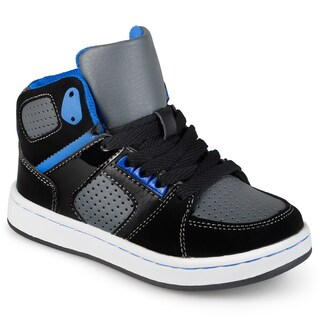 Journee Kid's Boys 'Mateo' High Top Lace-up Sneakers