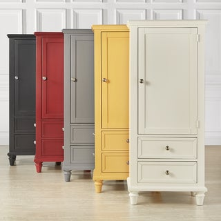 Beau Preston Wooden Wardrobe Storage Armoire By INSPIRE Q Junior