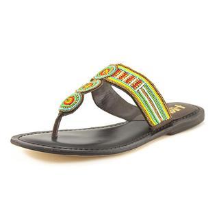 Mia Heritage Women's 'Borneo' Leather Sandals
