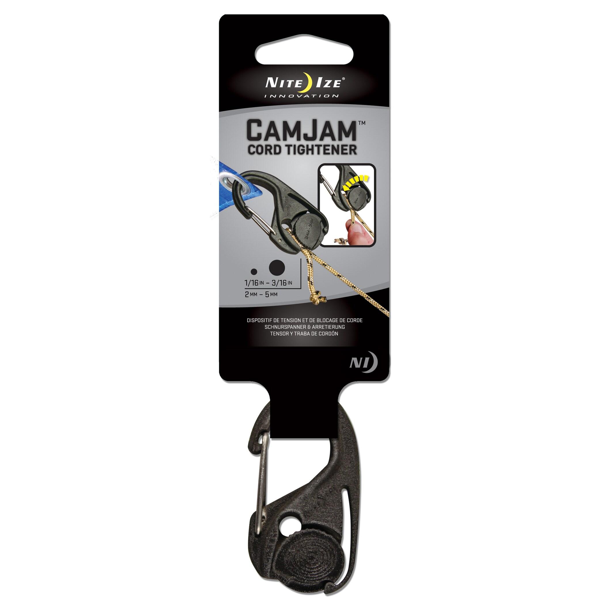 Nite Ize NCJ-02-01 CamJam Cord Tightener (Clamp&tie)