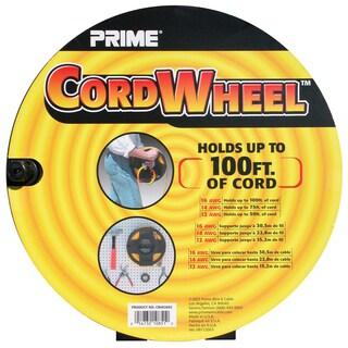 "Prime CR002002 4.25"" X 11.00"" X 11.00"" Black Cord Storage Wheel"