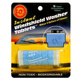 Gold Eagle 230390 303 Instant Windshield Washer Tablets