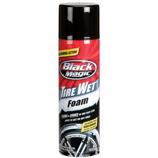 Black Magic 800002220 18 Oz Tire Wet Foam