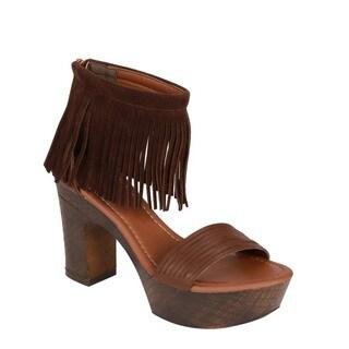Beston Tassels Platform Sandals