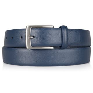 Vance Co. Men's Genuine Leather Textured Belt|https://ak1.ostkcdn.com/images/products/11776071/P18687994.jpg?impolicy=medium