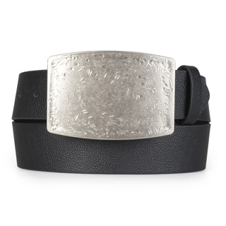 Vance Co. Men's Distressed Interchageable Buckle Belt