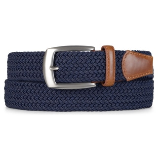 Vance Co. Men's Stretch Woven Belt