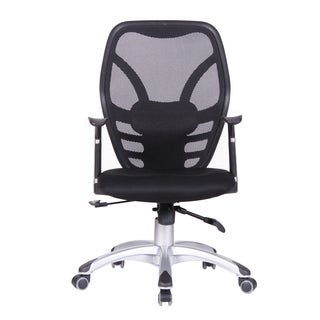 Comfortable Office Chair - Mesh, Tilt lock, Black