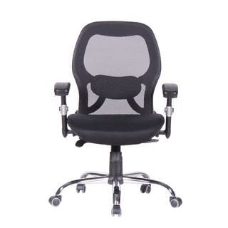 Executive Ergnomic Office Chair - Mesh, Padded H, Aarms, SM, Black https://ak1.ostkcdn.com/images/products/11776180/P18688133.jpg?impolicy=medium