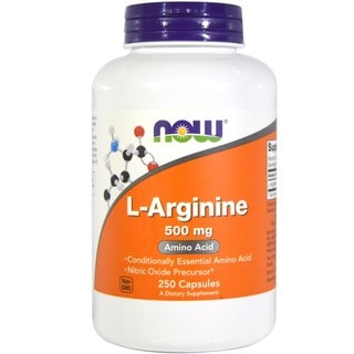 NOW Foods L-Arginine 250 500-milligram Capsules
