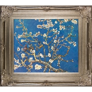 Vincent Van Gogh 'Branches of an Almond Tree in Blossom' Canvas Art
