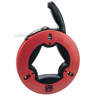 GB Gardner Bender FTS-125R 125' Upperhand Steel Fishtape With Rubber Grips