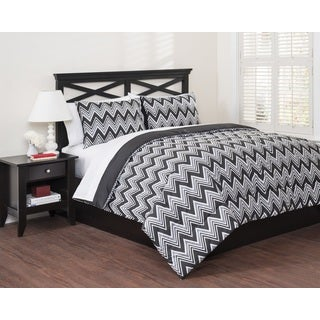 Classic Chevron 3-piece Duvet Set