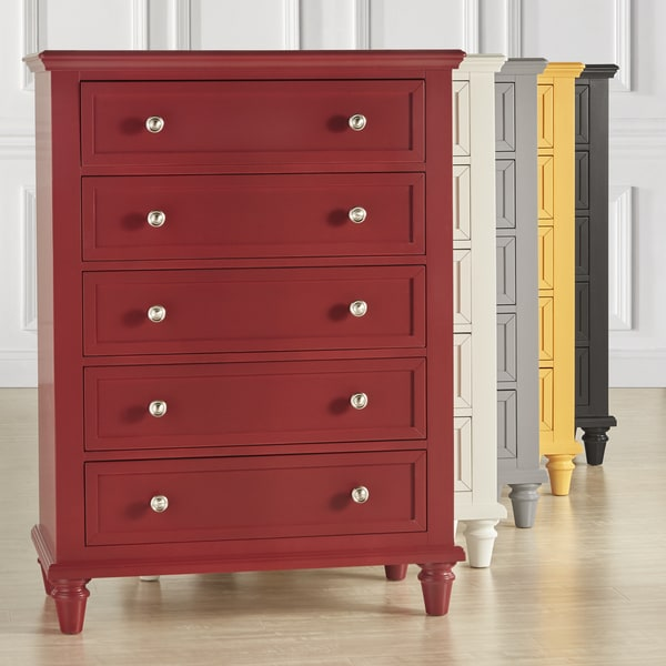 Preston Tall 5 Drawer Chest By Inspire Q Junior