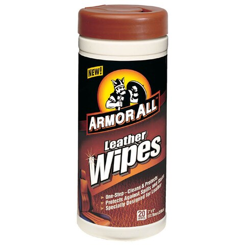 Armor All 10927/10881 Leather Wipes 20-count