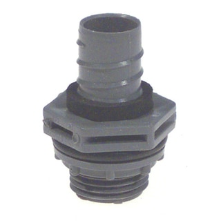 "Carlon Lamson & Sessons LN43EA-CTN 3/4"" Liquid Tight Assembled Straight Fitting"