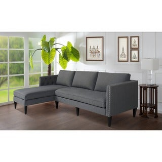 Vogue Reversible Chaise Sectional 11496289 Overstock