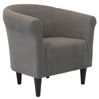 Round-back Upholstered Accent Chair
