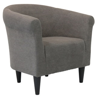 Porch U0026 Den Fountain Square Woodlawn Round Back Upholstered Accent Chair