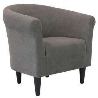 Porch & Den Walker Round-back Upholstered Accent Chair